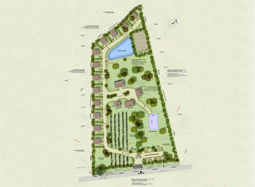 Le village perché = aménagement d'un espace touristique et de loisir au Zoo de la Boissière du Doré : une réalisation de Muriel Bernard, architecte DPLG. 2015