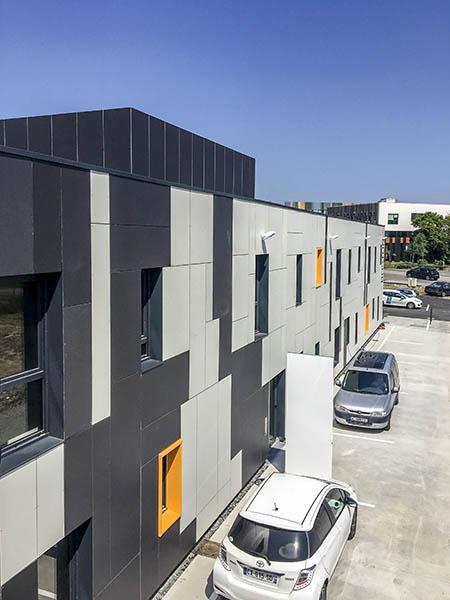 Boston et Phoenix, immeubles de bureaux à la Roche sur Yon (85) : une réalisation de Muriel Bernard, architecte DPLG. 2018